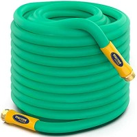 TBI Pro Pocket Garden Water Hose Lightweight - Drinking Water Safe with Solid Brass Fittings - Burst Strenght 500 psi Leak-Free 3 Layers Lead and BPA Free - Flexible with All-Weather 5/8 inc (10 ft)