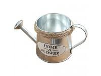 Printasaurus Vintage Metal Iron Barrel Retro Flower Pot Bucket Home Decoration Watering Can  Home & Garden Home Decor