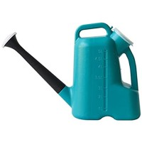 Watering Can with Sprinkler Head 3L Long Spout Watering Can Outdoor Indoor Watering Kettle Sprinkling Can Plastic Watering Pot Water Can with Lid for Plants  Vegetables  Herbs and Flowers