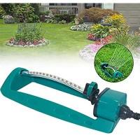 Garden Spray Nozzle Lawn Sprinkler Head 15 Holes Water Sprinklers Oscillating Sprinkler Gardening Watering System for Garden Lawn Park Yard