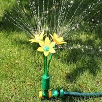 Garden Sprinkler Lawn Sprinkler 360° Rotating Sprinkler for Lawn & Garden  High Impact Sprinkler System  Roof Cooling Sprinkle
