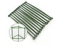 ZFRANC 12 Pcs Garden Plant Stakes Tomato Cages  Plant Support Cage Vegetable Trellis for Vertical Climbing Plants