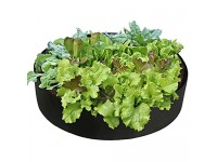 Asdomo Fabric Raised Garden Bed  50 Gallon Plant Grow Bags Flower Vegetable Plants Pot Container for Home Gardening
